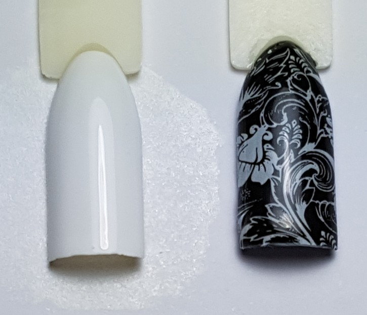 Stamping Color White
