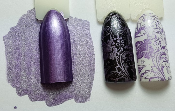 Stamping Color Chrome Purple
