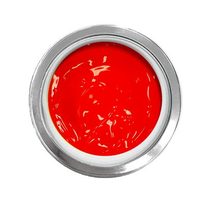 UV/LED Gel Play Paint Flame Red 4g
