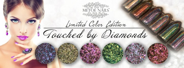 Touched by Diamonds 6 colors Hologram Pigment Kit