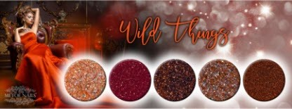 Wild Things Collection Glitter, 5 Stk.