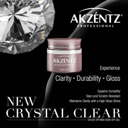 Options Crystal Clear Soak Off Gel 4g UV/LED
