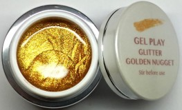 UV/LED Gel Play Glitter Golden Nugget 4g