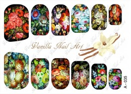 Vanilla Nail Art Slider No. A-035