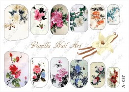 Vanilla Nail Art Slider No. A-037