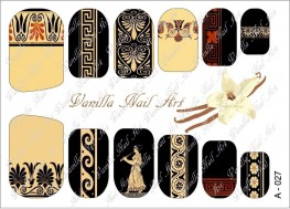 Vanilla Nail Art Slider No. A-027