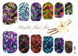 Vanilla Nail Art Slider No. A-066