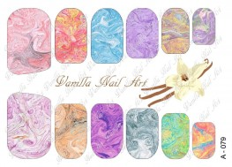 Vanilla Nail Art Slider No. A-079