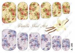 Vanilla Nail Art Slider No. A-285