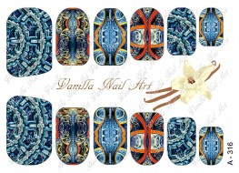 Vanilla Nail Art Slider No. A-316
