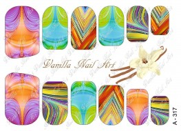 Vanilla Nail Art Slider No. A-317