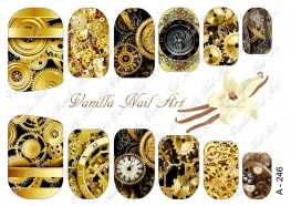 Vanilla Nail Art Slider No. A-246