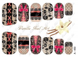 Vanilla Nail Art Slider No. A-450
