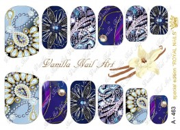 Vanilla Nail Art Slider No. A-463