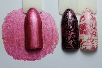 Stamping Color Chrome Pink