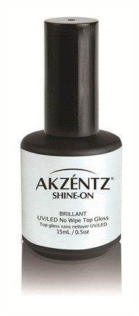 Akzéntz Shine On No Wipe Top Gloss UV/LED