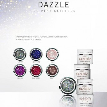 Dazzle Glitters Gel Play Collection (6 Stk.)