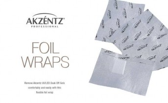 Akzéntz Soak Off Foil Wraps
