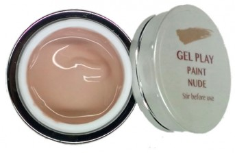 UV/LED Gel Play Paint Nude 4g