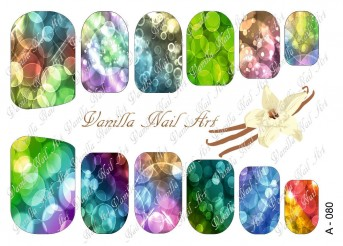 Vanilla Nail Art Slider No. A-080