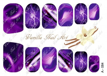 Vanilla Nail Art Slider No. A-084