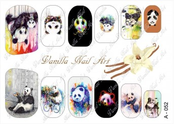 Vanilla Nail Art Slider No. A-052