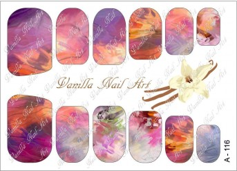 Vanilla Nail Art Slider No. A-116