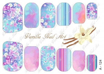 Vanilla Nail Art Slider No. A-124