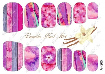 Vanilla Nail Art Slider No. A-265
