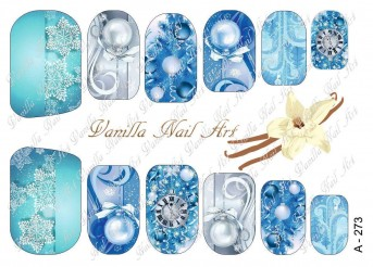 Vanilla Nail Art Slider No. A-273