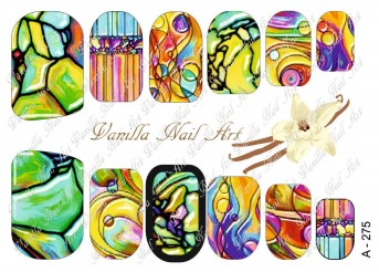 Vanilla Nail Art Slider No. A-275