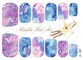 Vanilla Nail Art Slider No. A-327
