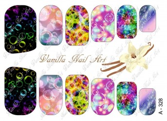 Vanilla Nail Art Slider No. A-328