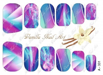 Vanilla Nail Art Slider No. A-331