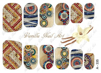 Vanilla Nail Art Slider No. A-335