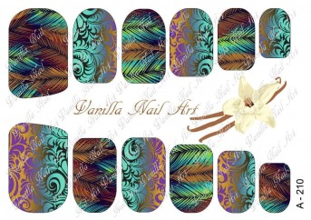 Vanilla Nail Art Slider No. A-210