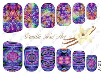 Vanilla Nail Art Slider No. A-212