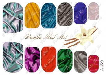 Vanilla Nail Art Slider No. A-220