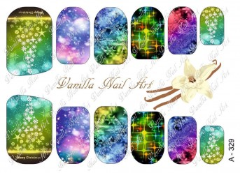 Vanilla Nail Art Slider No. A-329