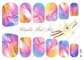 Vanilla Nail Art Slider No. A-377