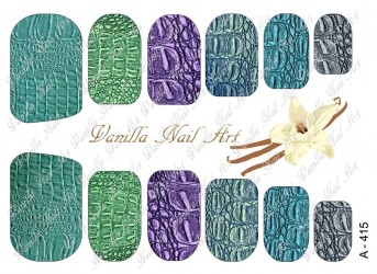 Vanilla Nail Art Slider No. A-415