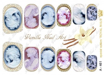 Vanilla Nail Art Slider No. A-461