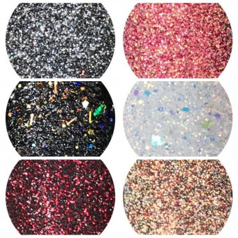 Shiny Stars 6 new fall & winter glitter colors! Limited Edition!