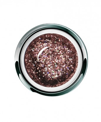 UV/LED Gel Play Glitter Rosy Dazzle 4g