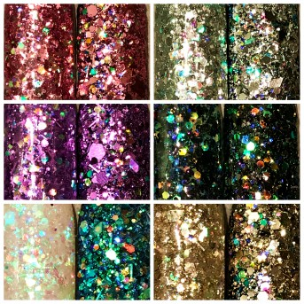Hollywood Glam Glitter Collection (6 Stk.)