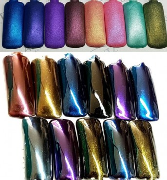 Ibiza Beach Pearl Pigments Set 12 colors