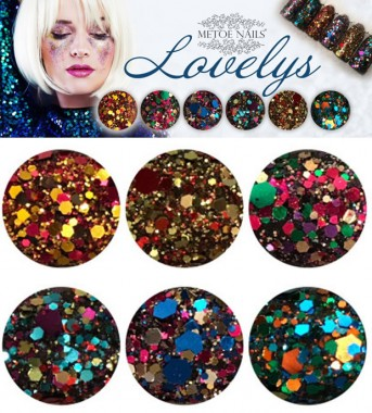 Lovelys Glitter Collection (6 Stk.)