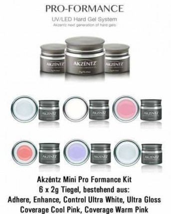Limited Edition: Mini Pro Formance Kit, 6 x 2g