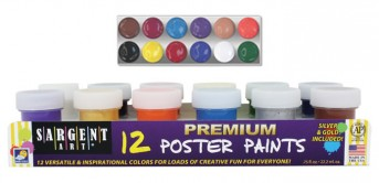 Acrylic Paint Kit with 12 Bacis colors for One Stroke (12 x 22ml)