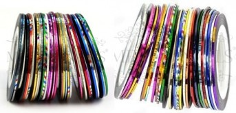 Striping Tapes Kit mit 30 Rollen - TOP PREIS